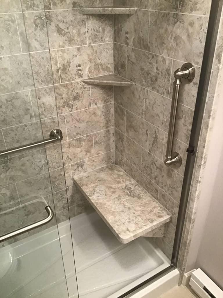 Marcellus Bathroom Remodel with Shower Door