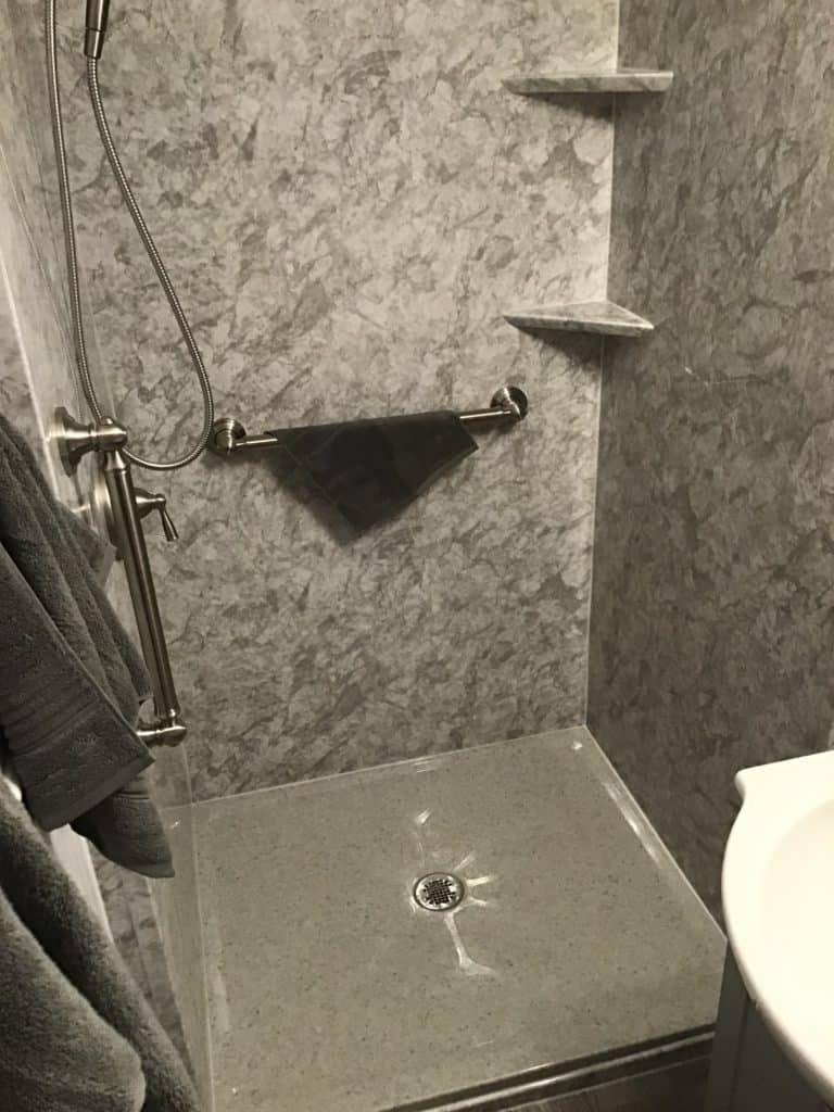 Liverpool Bathroom Remodeling with onyx base