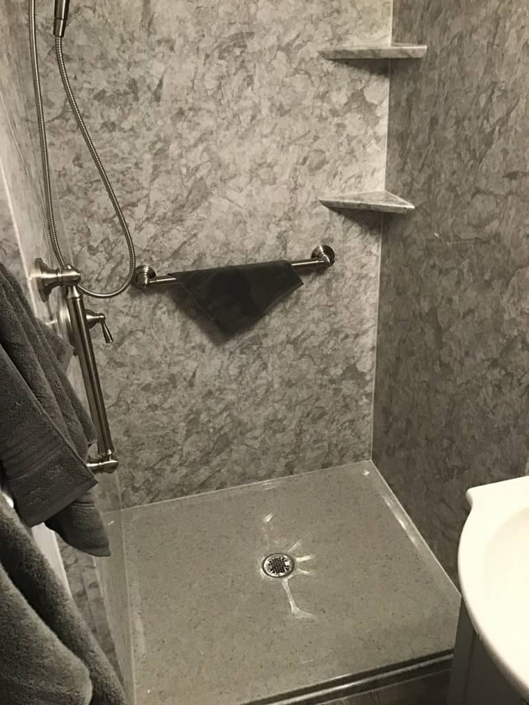 Salina Bathroom Remodeling with new Shower